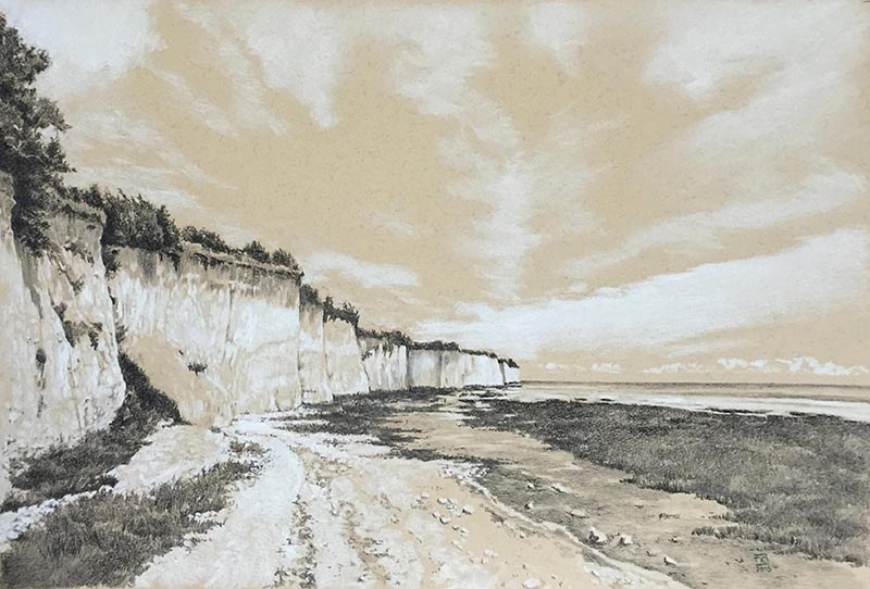 pegwell-bay-drawing-neil-dixon-800pxw
